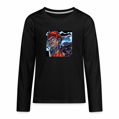 Crooks Graphic thumbnail image - T-shirt manches longues Premium Ado
