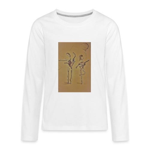 Ballo - sepia - Maglietta Premium a manica lunga per teenager