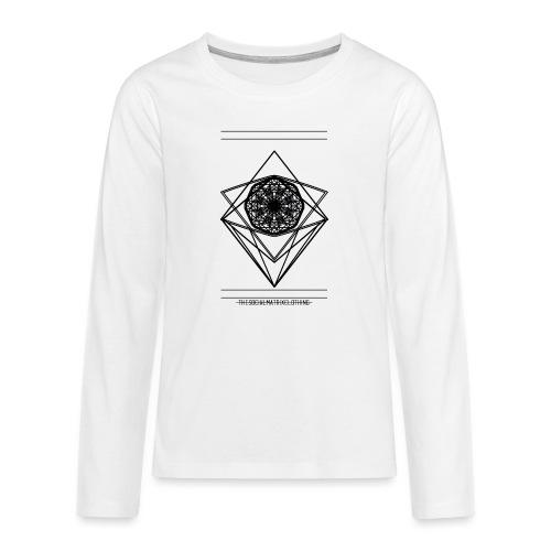 VISION - Teenager Premium shirt met lange mouwen