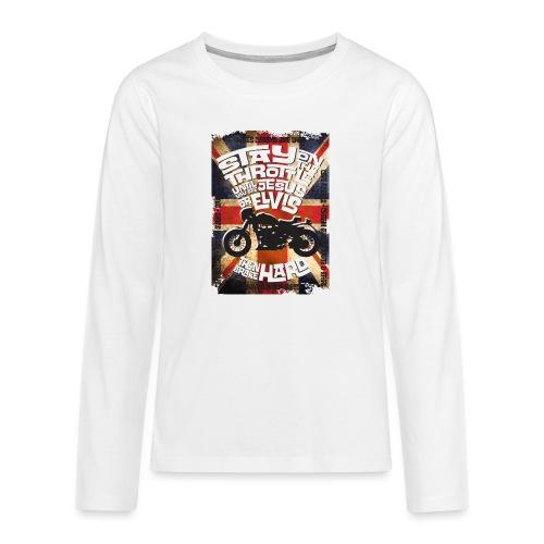 Kabes British Customs - Teenagers' Premium Longsleeve Shirt