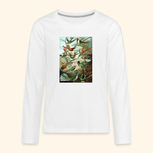 Graphic Vintage par Tinarra - T-shirt manches longues Premium Ado