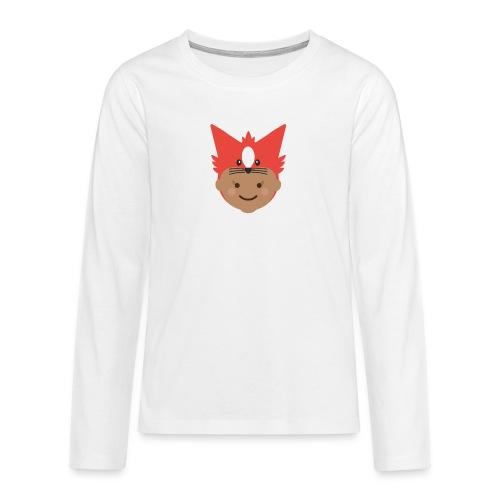 Florence the Fox | Ibbleobble - Teenagers' Premium Longsleeve Shirt