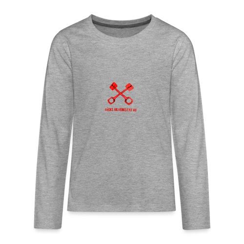 Bäcks bilverkstad - Långärmad premium T-shirt tonåring