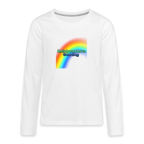 RainbowDave Gaming Logo - Teenagers' Premium Longsleeve Shirt