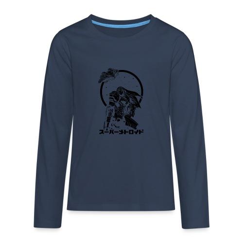 Interstellar Bounty Hunter - Teinien premium pitkähihainen t-paita