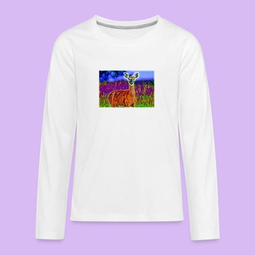 Cerbiatto con magici effetti - Maglietta Premium a manica lunga per teenager