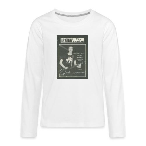Svart Dr Krall - Långärmad premium T-shirt tonåring
