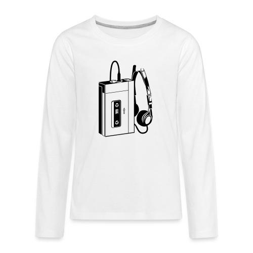 WALKMAN - T-shirt manches longues Premium Ado