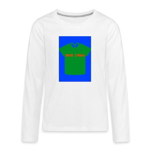 Bike Crew Merch (grün) - Teenager Premium Langarmshirt