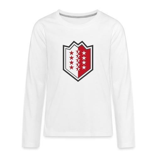 Bouclier moderne du Valais - Teenager Premium Langarmshirt