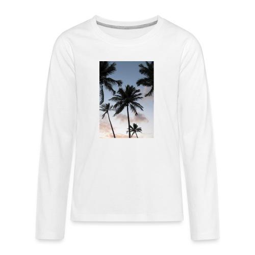PALMTREES DOMINICAN REP. - Teenager Premium shirt met lange mouwen