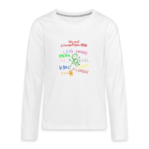 Abschluss kita 2020 - Teenager Premium Langarmshirt