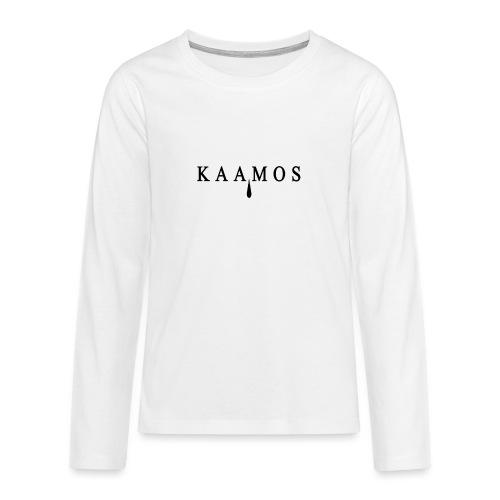kaamos teksti png - Teinien premium pitkähihainen t-paita