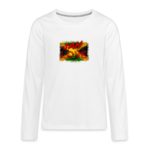jah love - T-shirt manches longues Premium Ado