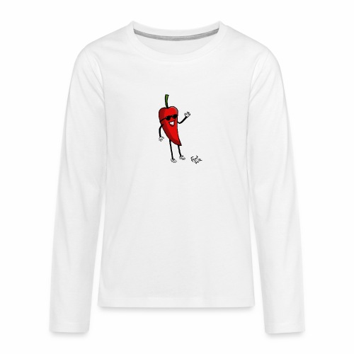 Hot Henrik - Teenagers' Premium Longsleeve Shirt