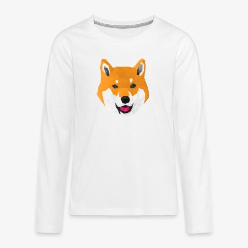 Shiba Dog - T-shirt manches longues Premium Ado