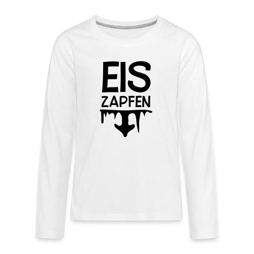 Skishirt Eiszapfen - Teenager Premium Langarmshirt