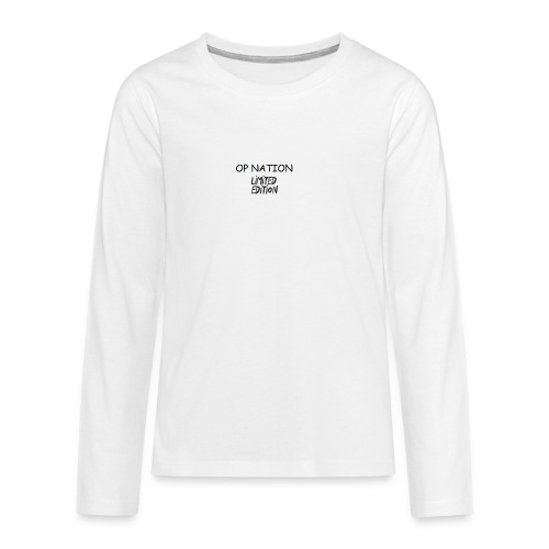 op Nation Clothing - Teenagers' Premium Longsleeve Shirt