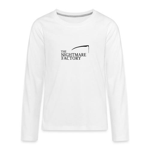nightmare factory Nero png - Teenagers' Premium Longsleeve Shirt