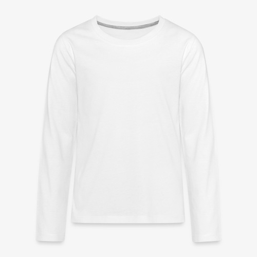 Red and smells like white paint - Teenagers' Premium Longsleeve Shirt