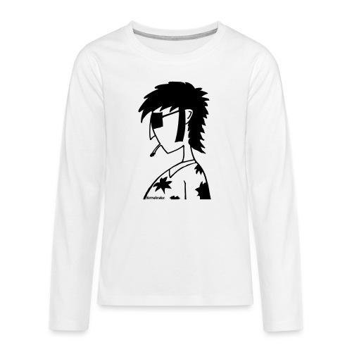 hippie - Teenager Premium Langarmshirt