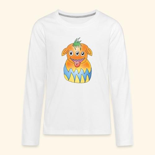 Pumky - Teenager Premium Langarmshirt