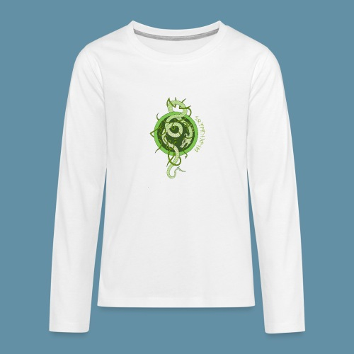 Jormungand logo png - Maglietta Premium a manica lunga per teenager