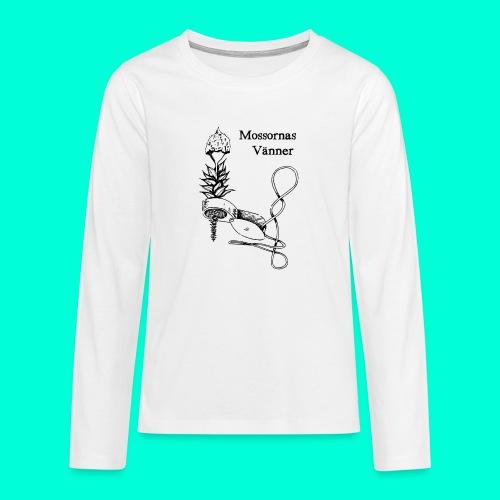 mossvanner - Långärmad premium T-shirt tonåring