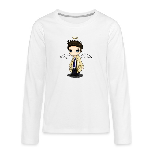 Team Castiel (dark) - Teenagers' Premium Longsleeve Shirt