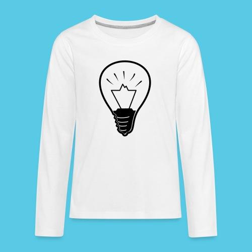 glühende Berge - Teenager Premium Langarmshirt