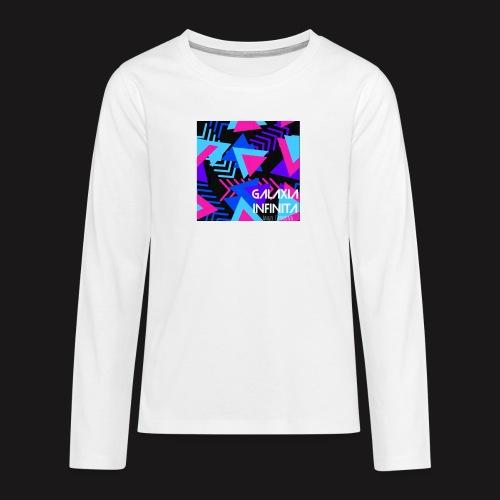 Sencillo Galaxia Infinita - Camiseta de manga larga premium adolescente