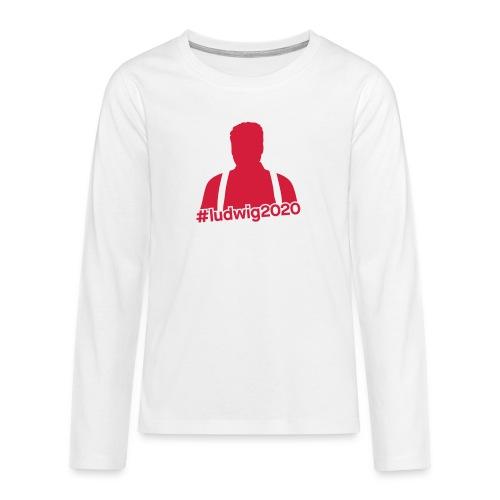 Ludwig Silhouette - Teenager Premium Langarmshirt