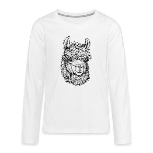 Alpaka - Teenager Premium Langarmshirt