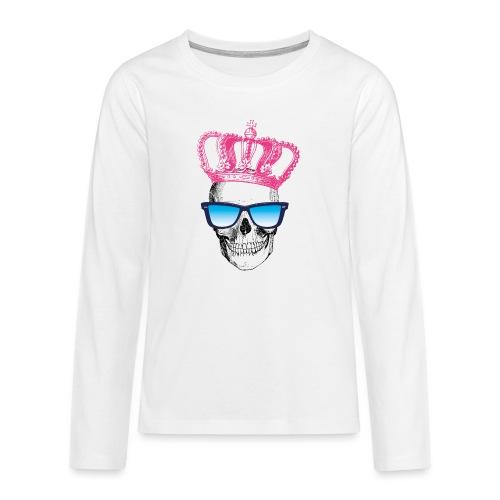 COOL SKULL - Teenager Premium Langarmshirt