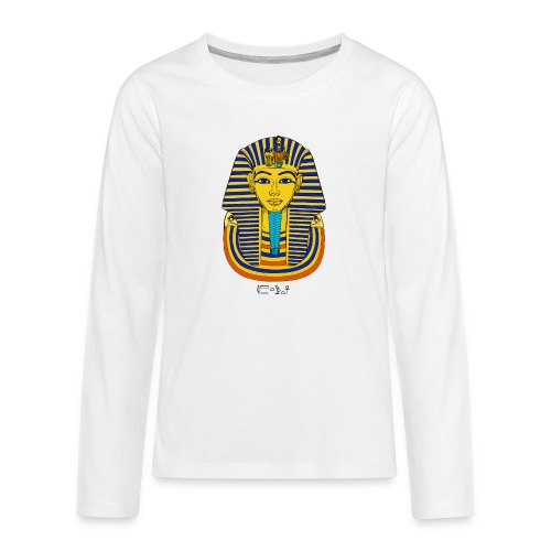 Pharao Tutanchamun - Teenager Premium Langarmshirt