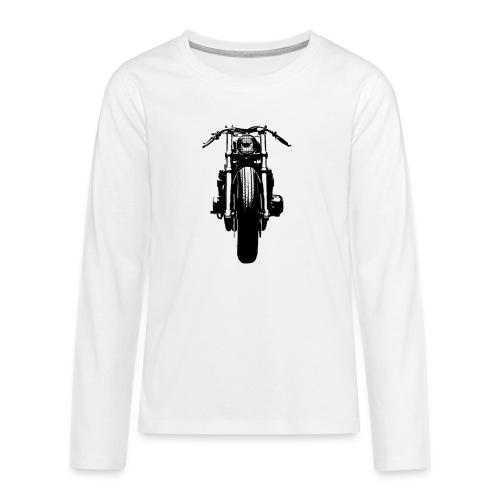 Motorcycle Front - Teenagers' Premium Longsleeve Shirt