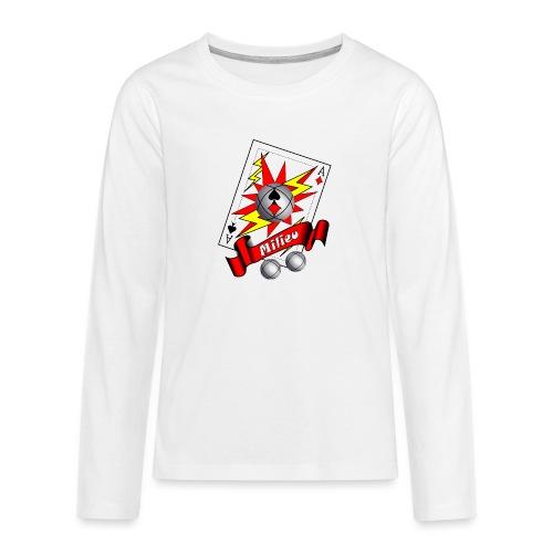 t shirt petanque milieu as des pointeurs as du tir - T-shirt manches longues Premium Ado