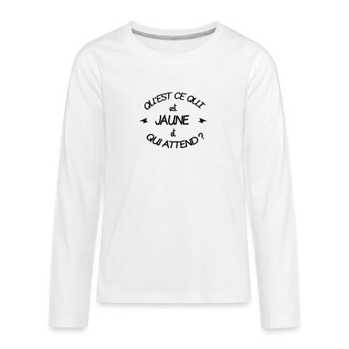 Edition Limitée Jonathan - T-shirt manches longues Premium Ado