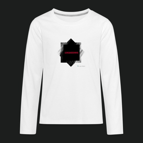 New logo t shirt - Teenager Premium shirt met lange mouwen