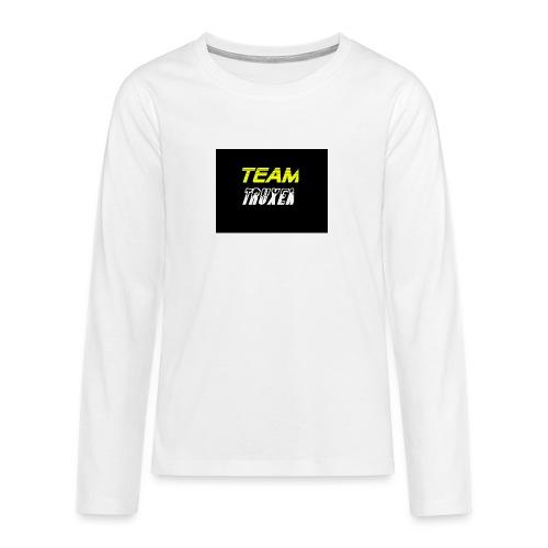Truxenmerch - Långärmad premium T-shirt tonåring