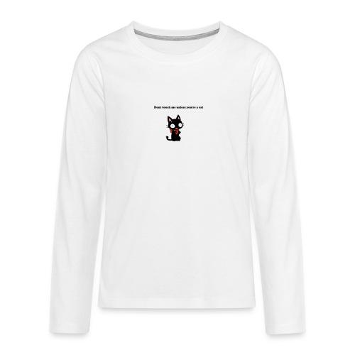 Imnotacat Tshirt - Långärmad premium T-shirt tonåring