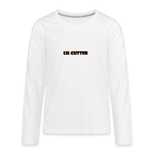 lil gutter sim - Teenager premium T-shirt med lange ærmer