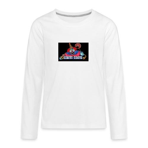 CLOWN - Maglietta Premium a manica lunga per teenager