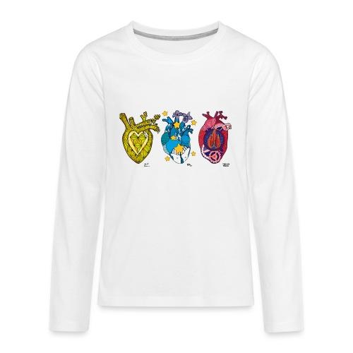 Corazones Prestados - Camiseta de manga larga premium adolescente