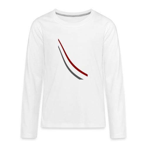 stripes shirt png - Teenager Premium shirt met lange mouwen