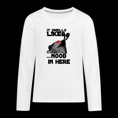 Noob Gaming Gamer Pro - Teenager Premium Langarmshirt