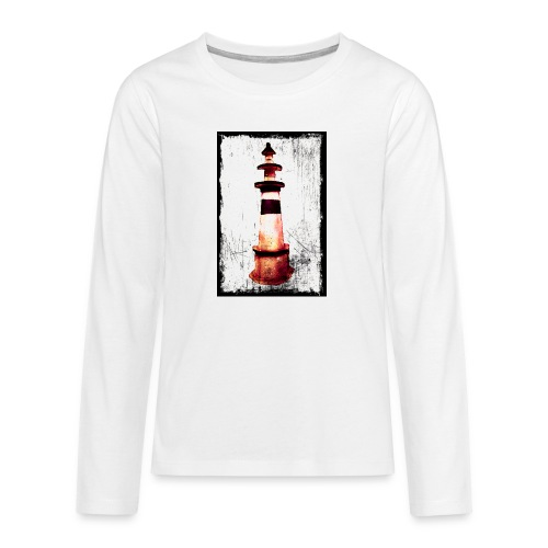 Leuchtturm - Teenager Premium Langarmshirt