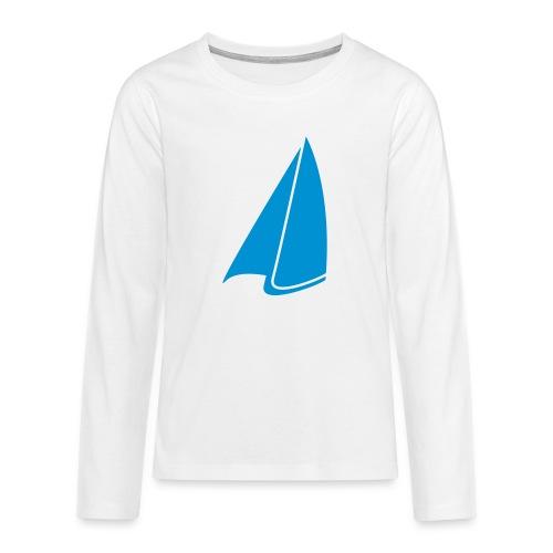 Segel Einfarbig - Teenager Premium Langarmshirt