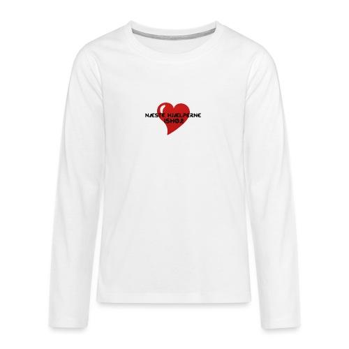 Næste-Hjælperne-Ishøj - Teenager premium T-shirt med lange ærmer
