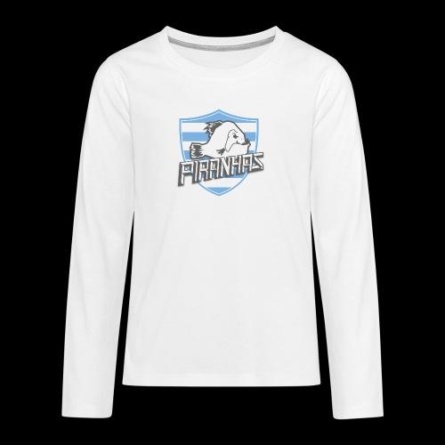 Logo Piranhas v5 - T-shirt manches longues Premium Ado